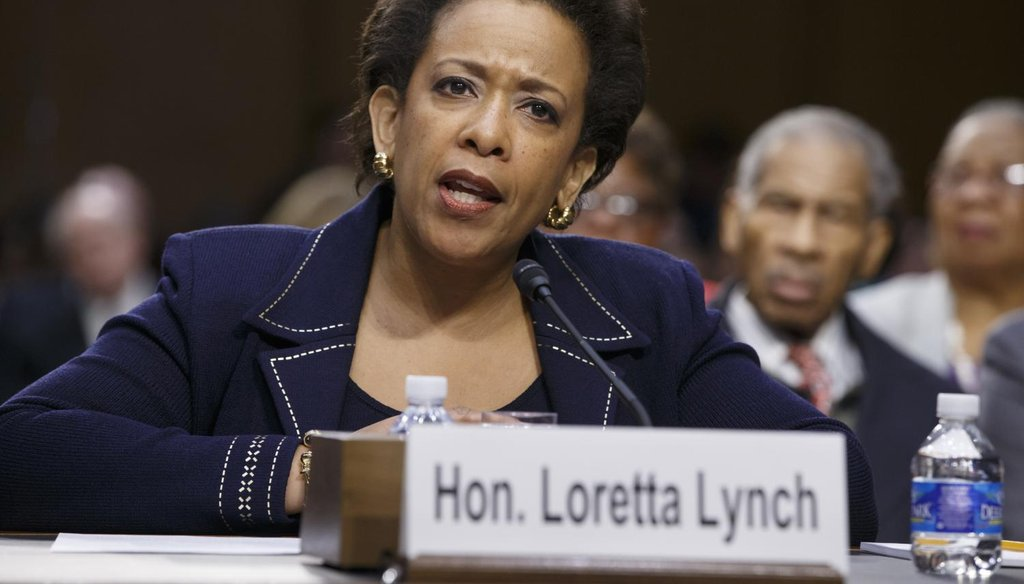 A question about federal funding of abortion is holding up the confirmation of attorney general nominee Loretta Lynch. (AP)