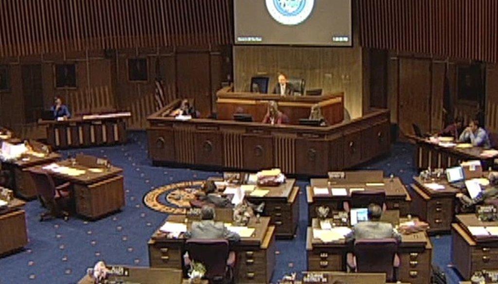 Arizona legislator Steve Montenegro has his own definition of prayer.