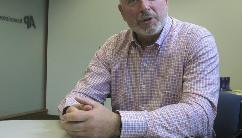 Businessman Andy Gronik, a political newcomer, is a candidate for governor of Wisconsin in 2018. (Associated Press)