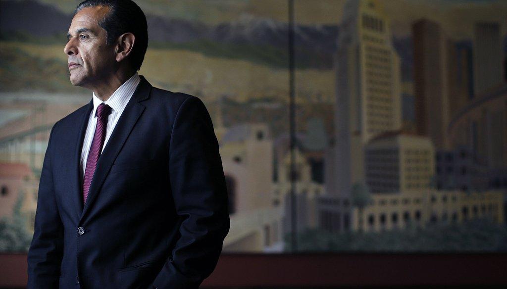 Former Los Angeles Mayor Antonio Villaraigosa is a candidate for California's 2018 governor's race / AP file photo.