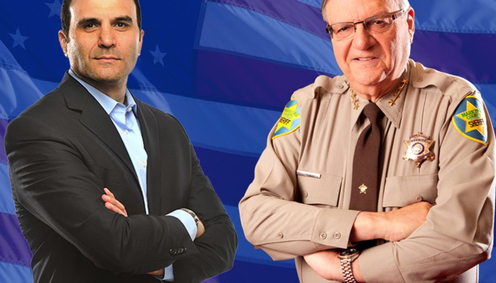 We broke down a complicated attack ad from Maricopa County Sheriff Joe Arpaio on his Democratic challenger, Paul Penzone.