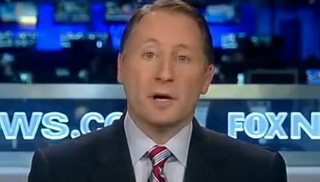 "Rob Astorino, a Republican challenging New York Gov. Andrew Cuomo, is shown on Fox News in January. We checked a comment he made more recently on ""Fox & Friends."""