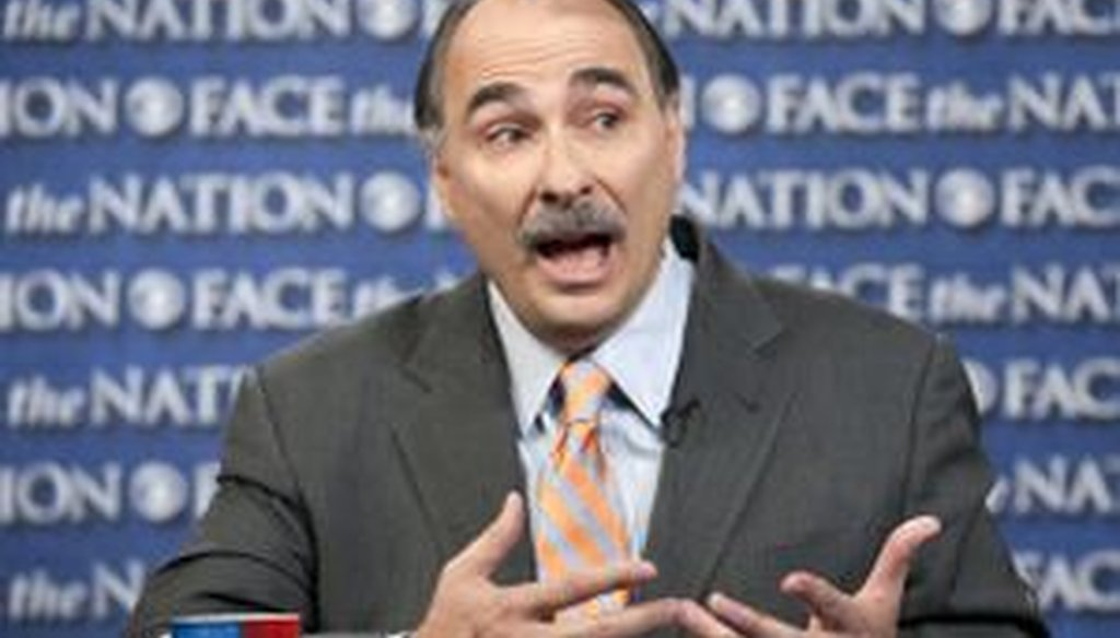 David Axelrod of the Obama campaign repeated the claim that Massachusetts under then-Gov. Mitt Romney ranked 47th nationally in job creation. We checked to see if that was correct.