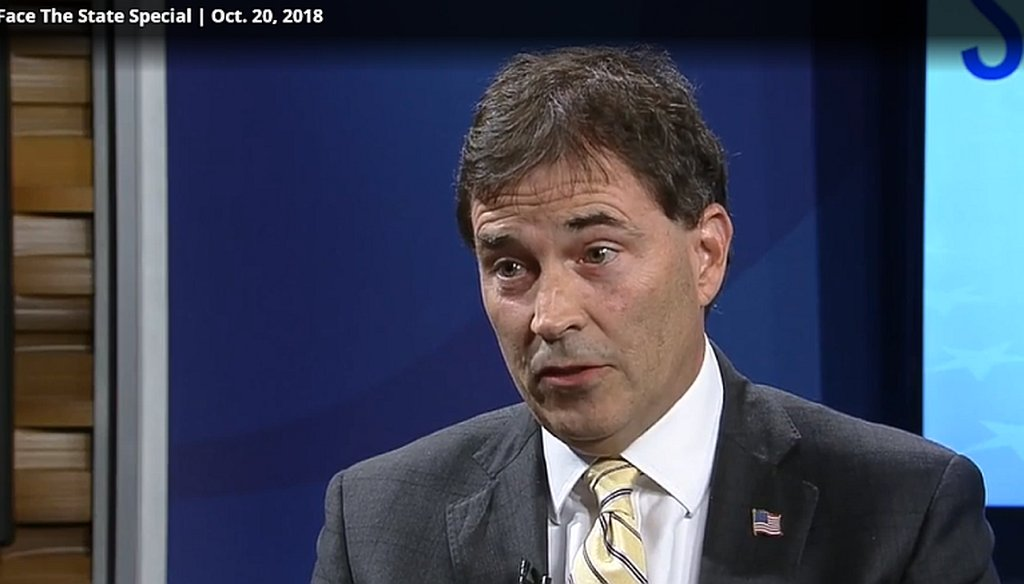 U.S. Rep. Troy Balderson told Columbus news anchor Scott Light that the Affordable Care Act created health care access problems.