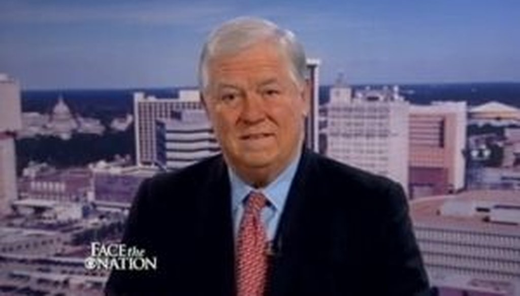 "Mississippi Gov. Haley Barbour said on CBS' ""Face the Nation"" that President Barack Obama ""had the biggest Democratic majorities in Congress since Lyndon Johnson."" We see if he's right."