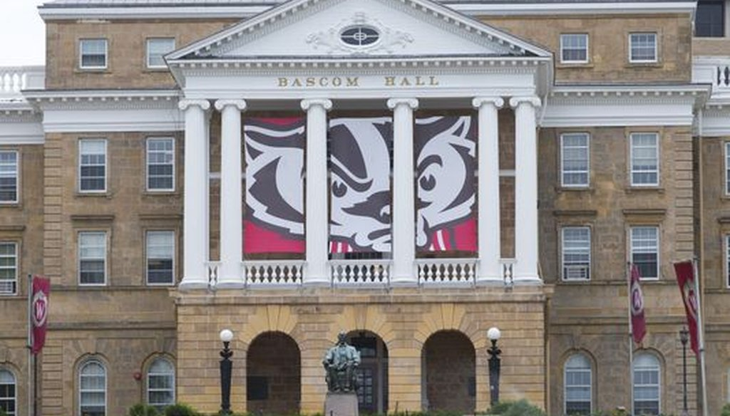 Bascom Hall is an iconic spot at the University of Wisconsin-Madison, the flagship campus in the University of Wisconsin System. (Mark Hoffman/Milwaukee Journal Sentinel)