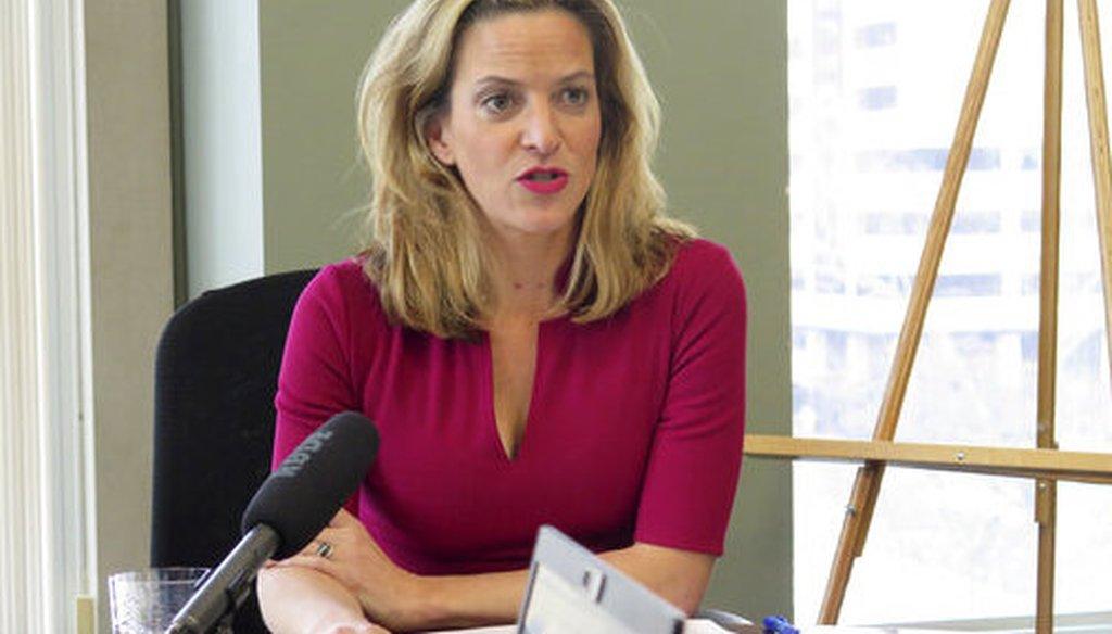 Michigan Secretary of State Jocelyn Benson. (AP)
