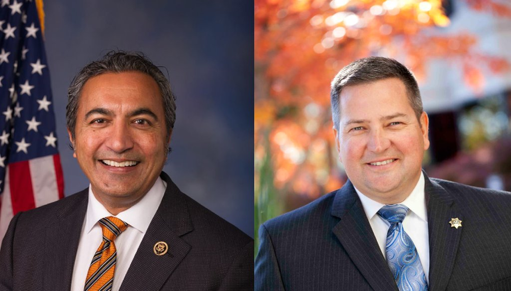Rep. Ami Bera and GOP challenger Scott Jones are vying for the Sacramento region's 7th Congressional District. File photo / Capital Public Radio