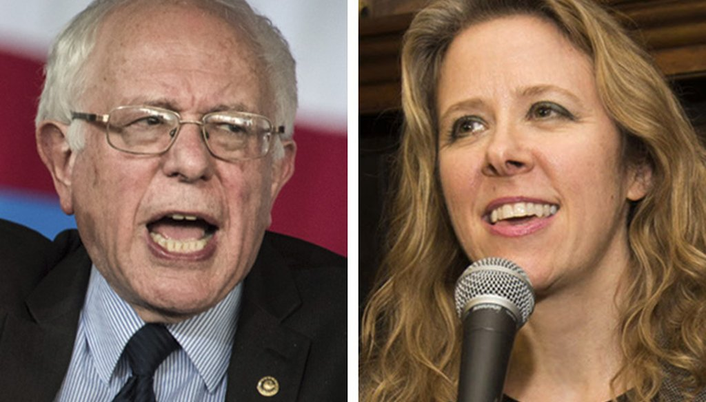A Wisconsin pundit claims left-wing Bernie Sanders made a rape comment similar to one made by right-wing Rebecca Bradley.