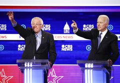 Live fact-checking the Biden-Sanders Democratic presidential debate
