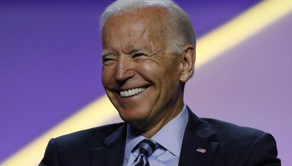 Former vice president Joe Biden (AP)