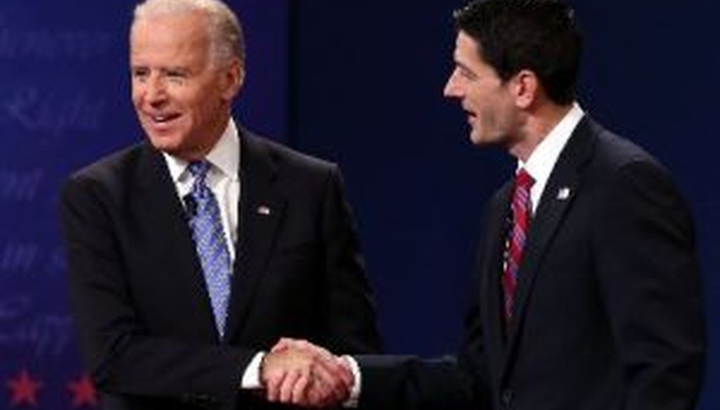 Vice President Joe Biden and Rep. Paul Ryan debated for 90 minutes in Danville, Ky.