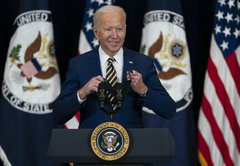 In context: Joe Biden's remarks about being 'shot at' in Iraq