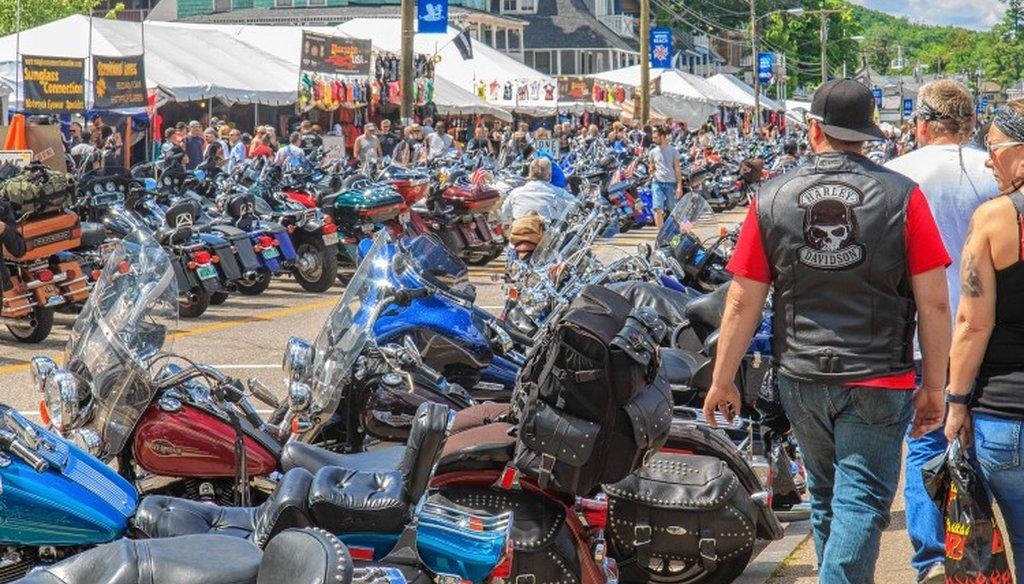 Laconia Bike Week 2016, Concord Monitor file photo