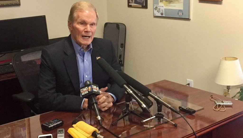 U.S. Sen. Bill Nelson, the only statewide Democrat in Florida, faces re-election in 2018. (Photo by Miami Herald)
