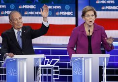 Bloomberg on the defensive, fact-checking the Las Vegas Democratic debate