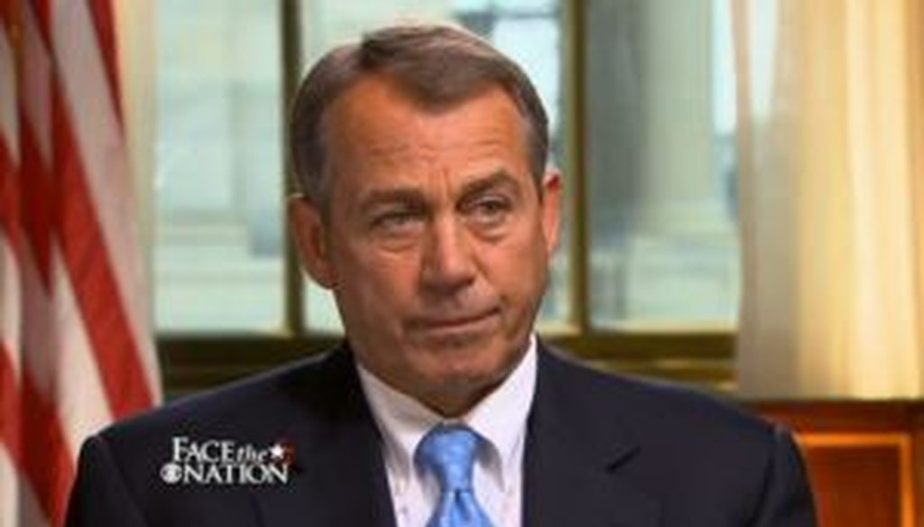 """House Speaker John Boehner, R-Ohio, appeared on CBS' """"Face the Nation"""" and said that the U.S. has the best health care system in the world. Is there hard data to back that up?"""