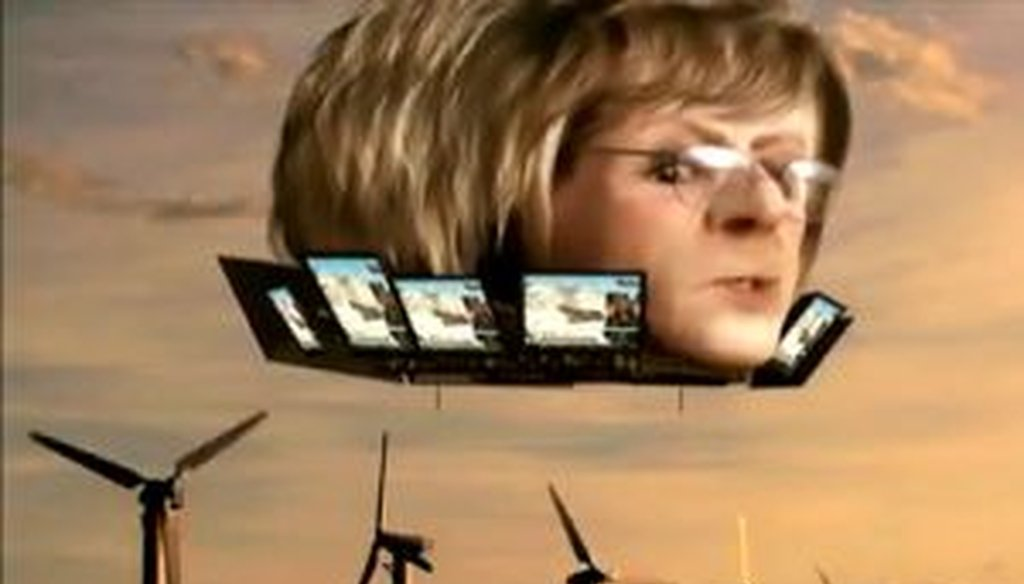 The 2010 campaign was wild, woolly, and wacky. Among the oddest items in our campaign-season roundup was this ad portraying Sen. Barbara Boxer, D-Calif., as a free-floating blimp.