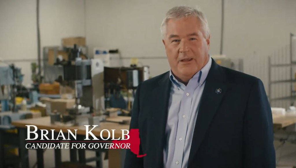Assemblyman Brian Kolb claimed New York state spends more on economic development than the next three highest spending states combined. (Courtesy: Kolb's Facebook page)