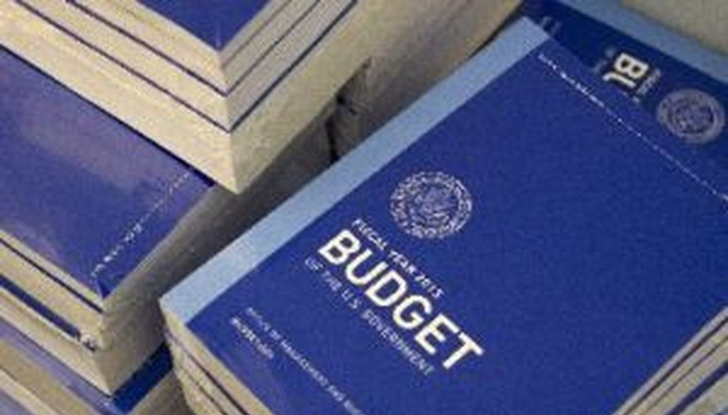 Do Social Security, Medicare and Medicaid account for almost 70 percent of the federal budget? Not exactly; we take a look at the numbers. (AP Photo)