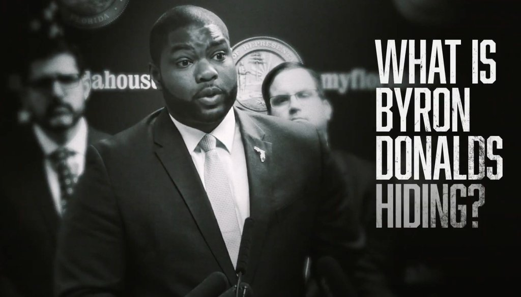 In a GOP primary for Congress in Florida, Casey Askar's ad attacks Florida state Rep. Byron Donalds.