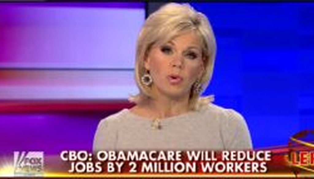 Fox News host Gretchen Carlson reports on a new report about the Affordable Care Act and employment.