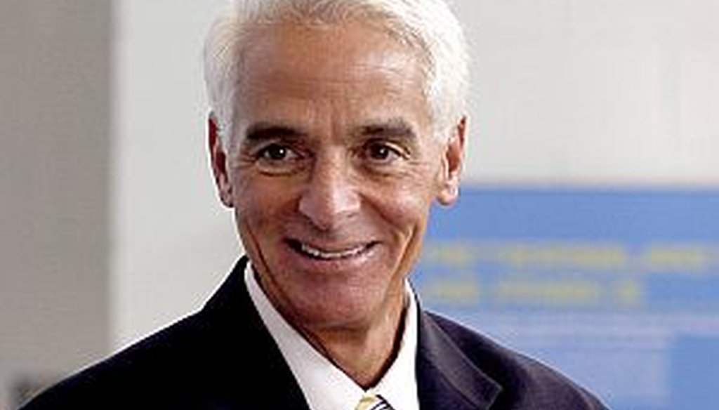 Charlie Crist will run for governor as a Democrat in 2014. (Tampa Bay Times photo)