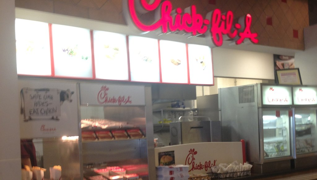Emory University officials are considering closing this Chick-fil-A restaurant.