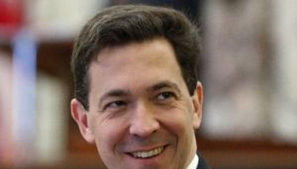 Mississippi state Sen. Chris McDaniel is challenging longtime U.S. Sen. Thad Cochran in a GOP primary set for June 2014.