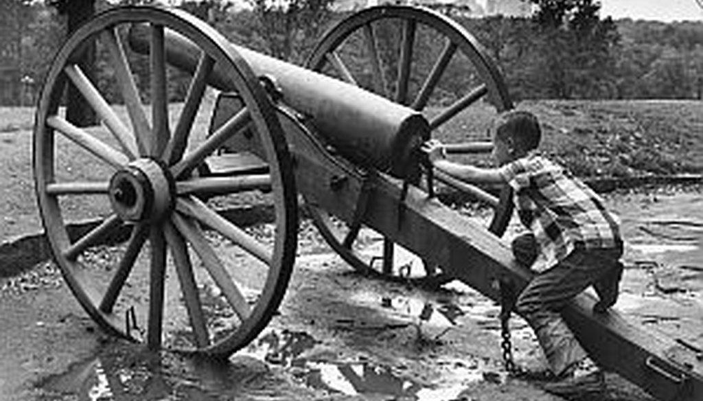 AJC PolitiFact Georgia fact checked a claim on the Civil War last week. Verdict: Pants on Fire.