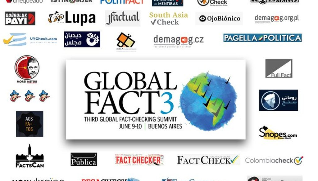 PolitiFact is joining more than 100 worldwide fact-checkers for two days of talks in Buenos Aires.