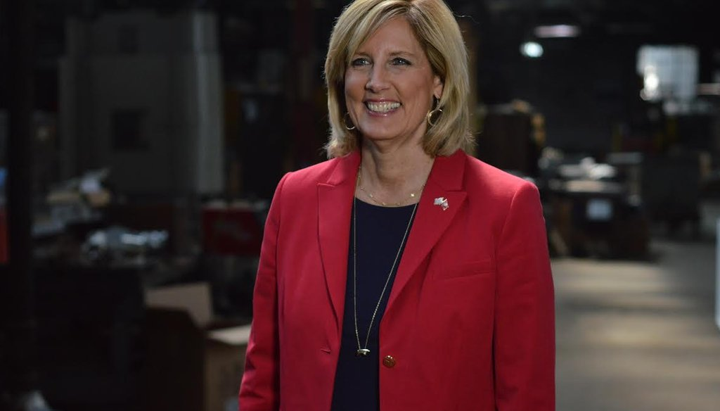 Photo of Claudia Tenney, Republican candidate in the 22nd Congressional District.
