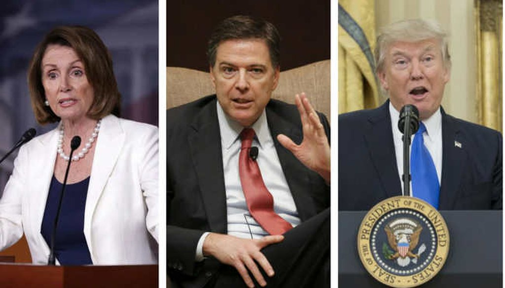 Democrats and President Trump rarely saw former FBI director James Comey in the same light. (Tampa Bay Times)