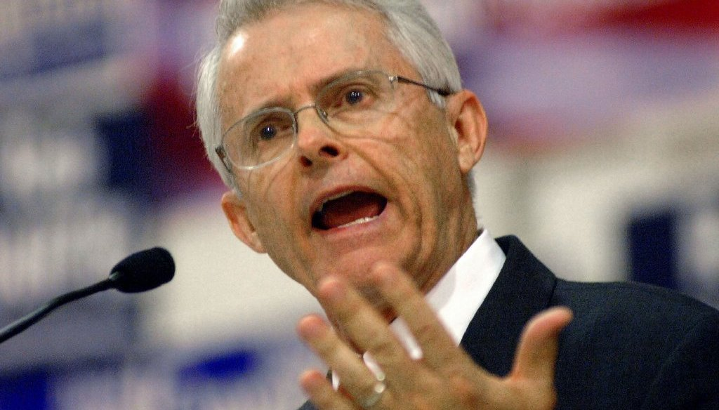 Sen. Dick Black has been trying to link opponent Jill McCabe to the fetal tissue controversy (file photo by the Associated Press/The Free-Lance Star).