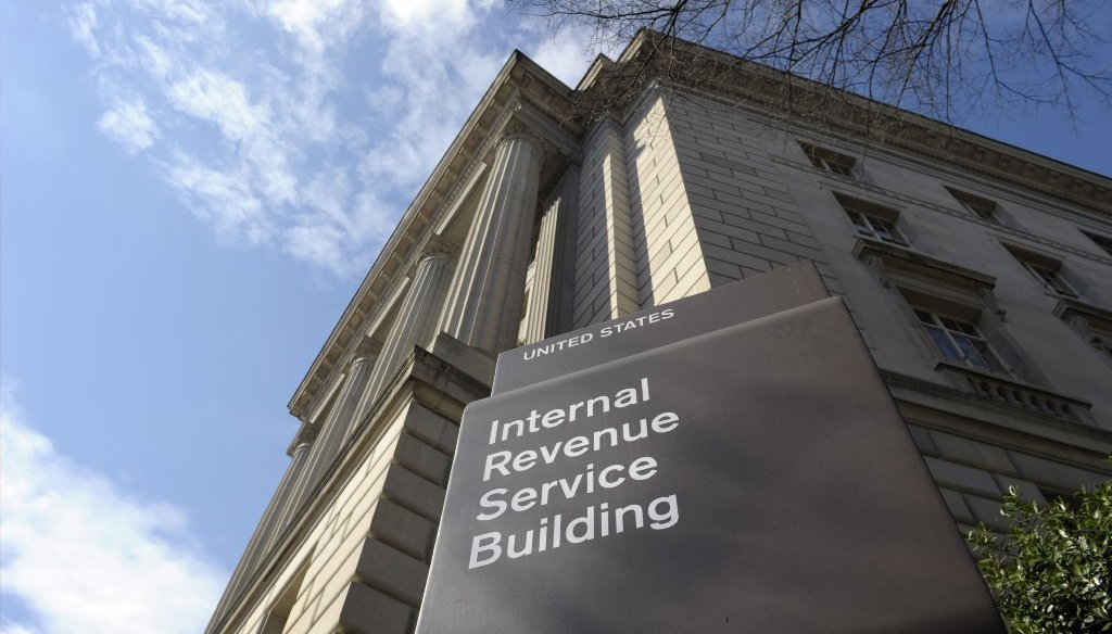 The amount of taxes the IRS collects annually is hundreds of billions of dollars less than what is actually owed, according to the most recent figures from the agency. (Photo by AP).