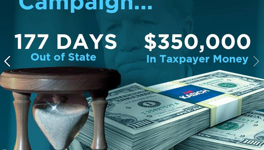 Ohio Dems target Kasich campaign costs