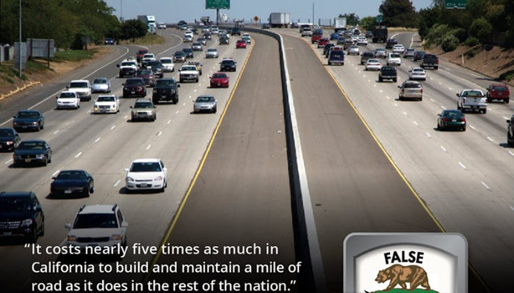 Candidate for California governor John Cox made an outdated, false claim about the per-mile cost of California roads. Capital Public Radio file photo.