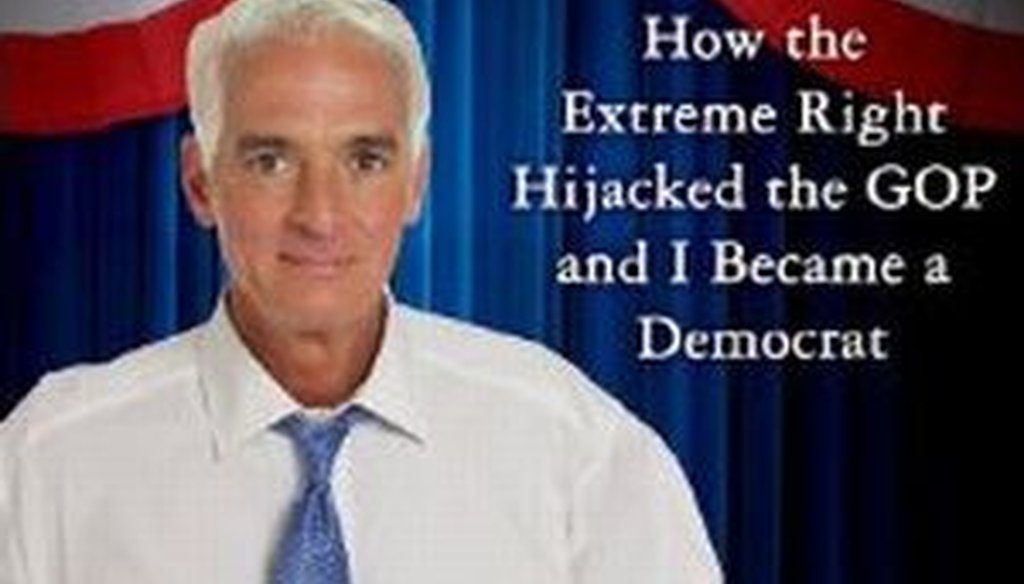 The publication of Charlie Crist's campaign autobiography is raising questions about whether he has changed his view on certain issues. Is civil unions one of them?
