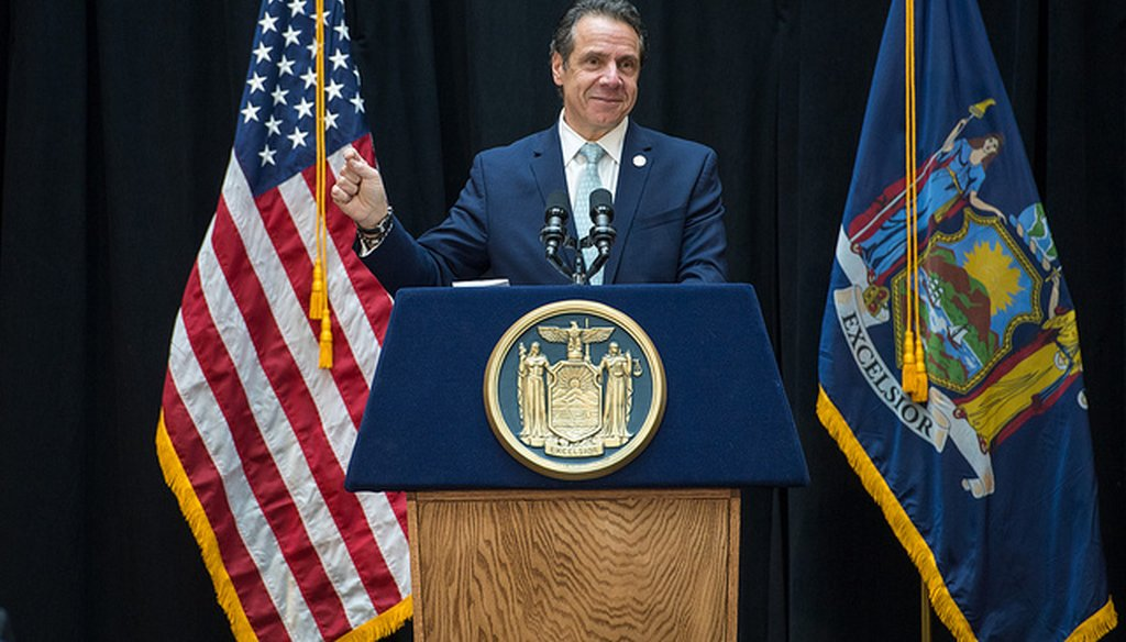 Gov. Andrew Cuomo was in Buffalo on Tuesday, March 12, 2019. (governorandrewcuomo/flickr)