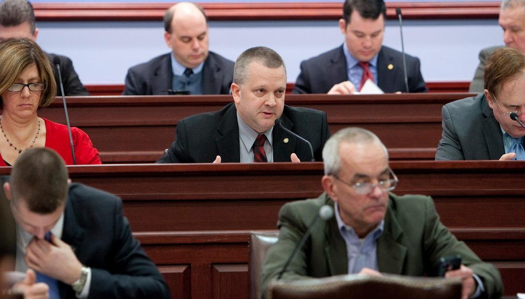 Pennsylvania State Representative Daryl Metcalfe is pictured at a State Government Committee hearing in 2013.
