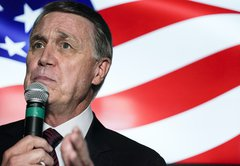 A 'crook'? 'Totally exonerated'? Misleading claims about Ga. Sen. David Perdue and his stock trades