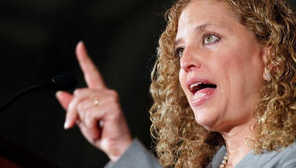 U.S. Rep. Debbie Wasserman Schultz, photographed in 2011, has called for more gun control in the wake of the Oregon shooting. (AP)