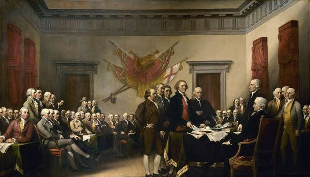 Hear someone making a political point about a Founding Father? Better check the facts first.