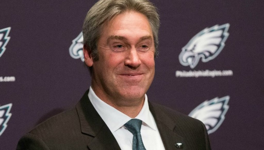 Doug Pederson has led the Eagles to a losing record in his first season.