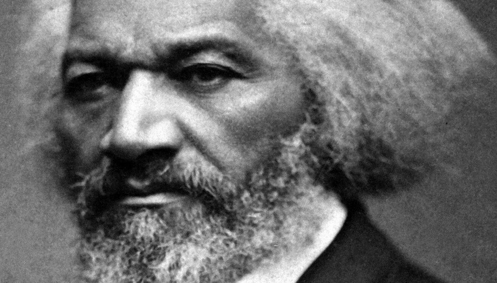 Frederick Douglass portrait by George K. Warren (National Archives Gift Collection, via The Buffalo News)