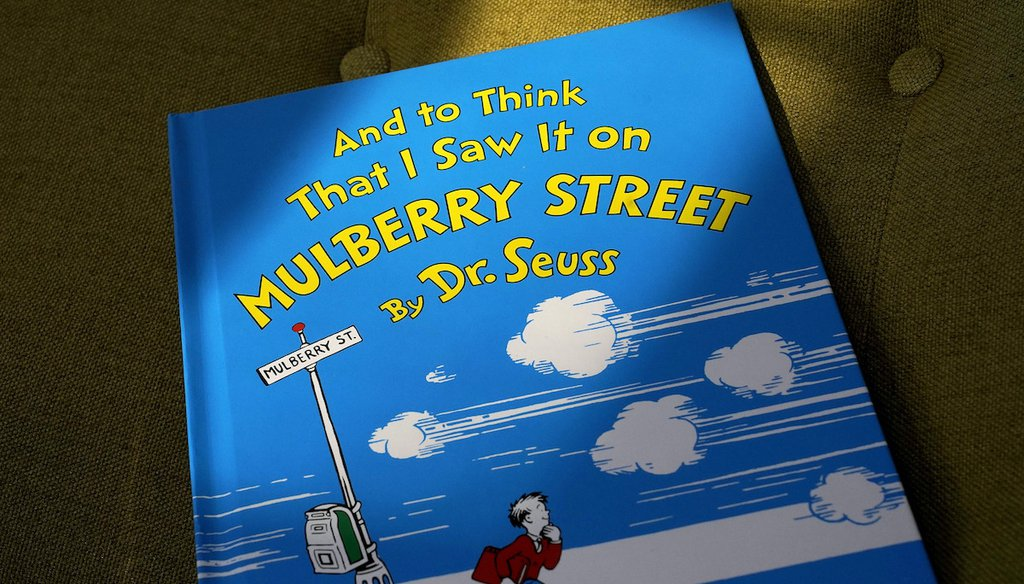 """Dr. Seuss Enterprises announced on March 2, 2021 that it would cease publication of six children's titles including """"And to Think That I Saw It on Mulberry Street"""" and """"If I Ran the Zoo,"""" because of insensitive and racist imagery. (AP)"""