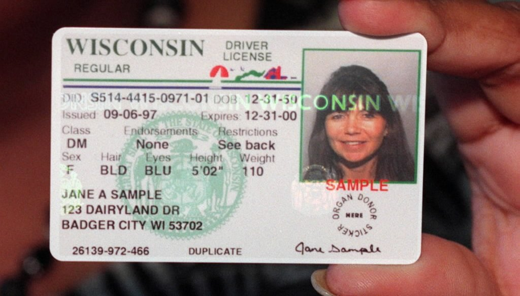The 2016 presidential election was the first in Wisconsin in which a photo identification was required to vote.
