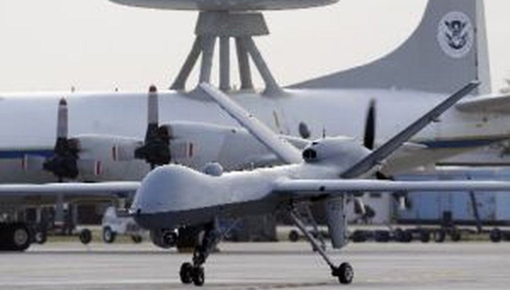 "The use of drones to locate and kill suspected terrorists overseas has inspired intense debate. Is it accurate for the White House to say it has kept Congress ""fully informed"" of its policies?"