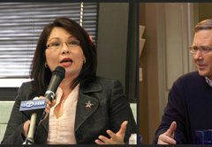 Tammy Duckworth pega a Mark Kirk por sus logros militares