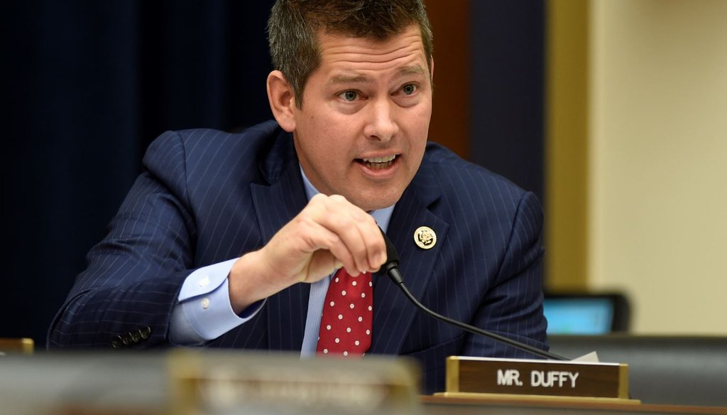 U.S. Rep. Sean Duffy, R-Wis., was the focus of a radio ad that claimed he changed his views on how to handle Puerto Rico's debt crisis. (Milwaukee Journal Sentinel photo)